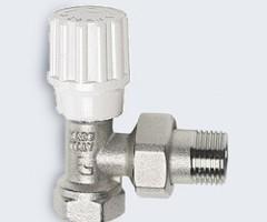 Кран радиаторный угловой подача ITAP (art.394)