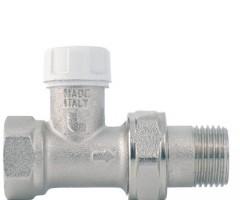 Кран радиаторный прямой обратка ITAP (art.296)
