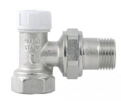 Кран радиаторный угловой обратка ITAP (art.396)
